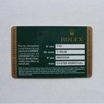 Rolex Libretto / Booklet per Daytona 116528