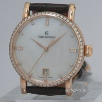 Chronoswiss Sirius Medium Diamond Lady ~NEW~ 67% OFF
