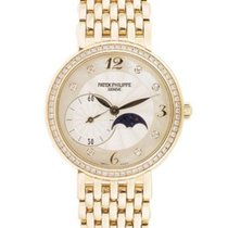 Patek Philippe 4958/1J Ladys Calatrava with Moon Phase and Sub...