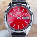 Seiko 5 Actus Vintage Rare 7013-7060 Day Date S Steel Automati...