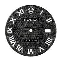 Rolex DateJust 36mm Black Pavè Custom Dial