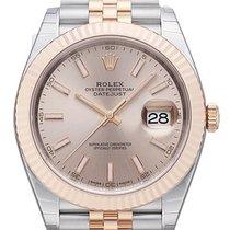 Rolex Datejust 41 Edelstahl Everose-Gold 126331 Sundust Jubile