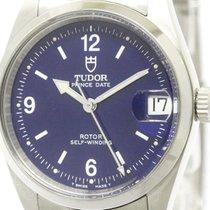 튜더 (Tudor) Polished  Prince Date Steel Automatic Mid Size...