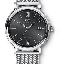 IWC Portofino Automatic 40mm Stainless Steel Bracelet Black Dial