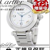 까르띠에 (Cartier) 【カルティエ】パシャC スモールデイト ボーイズ 腕時計 W31015M7 自動巻き AT...