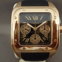 Cartier Santos 100 XL Chrono Pink Gold