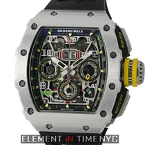 Richard Mille RM 11-03 Titanium Felipe Massa Automatic Flyback...