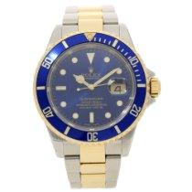 Rolex Submariner 16613T - Gents Watch - Blue Bezel & Dial...