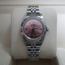 Rolex Oyster Perpetual Lady 26 Stainless Steel/Pink Dial