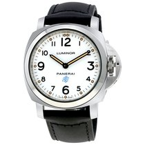 Panerai Luminor Base Logo Acciaio Hand Wound Men's Watch