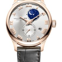 Chopard L.U.C Lunar Twin 18K Rose Gold Unisex Watch