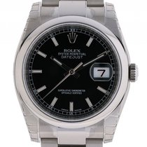Rolex Datejust Stahl Automatik Oyster Armband 36mm Ref.116200...