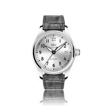 IWC Schaffhausen Pilot Automatic Stainless Steel Silver Dial...