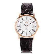 Longines Elegant Rose Gold Automatic Movement Mens Watch...