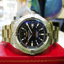 Breitling Colt Automatic Stainless Steel 44mm Black Dial 200m...