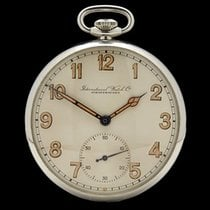 IWC Vintage Military Pocket Watch Stainless Steel Gents...