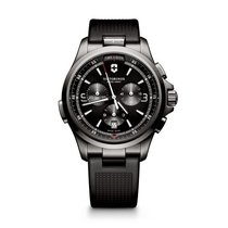 Victorinox Swiss Army Night Vision Chronograph, black dial,...