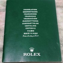 "Rolex booklet ""oyster translation"" 2001"