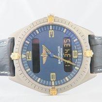 ブライトリング (Breitling) Aerospace Titanium Gold Quartz 41mm (Extra...
