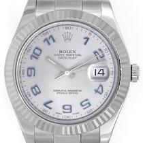 Rolex Datejust II Men's 41mm Stainless Steel Watch...