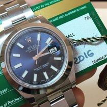 Rolex Datejust II 41mm 2016 Com Garantia Até 2021 - Completo