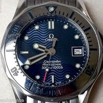 Omega Ladies Seamaster 300 M Diver Pro Blue Dial Reference...