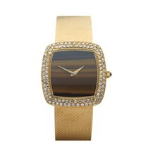 DeLaneau Vintage Tiger-eye 18K Yellow Gold Women's - COM757