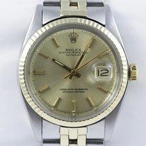 Rolex Oyster Perpetual Datejust Chronometer Datum Stahl 18k Gold