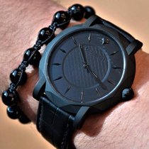 GrafF SLIM ECLIPSE TITANIUM BLACK DLC WATCH