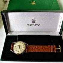 Rolex - triple signed Gents swiss wrist watch. {date hallmarke...