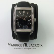 Maurice Lacroix Pontos Rectangulaire Date Diamonds