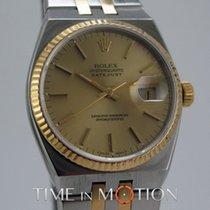Rolex Oysterquartz Datejust 17013 Or et acier + Pochette Rolex