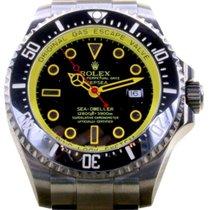 勞力士 (Rolex) Deepsea 116660 Men's 44mm Custom PVD DLC...