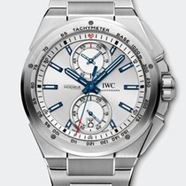 IWC INGENIEUR CHRONOGRAPH RACER STEEL SILVER DIAL