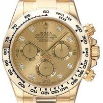 Rolex Cosmograph Daytona 116508 Champagne Diamond Tachymetre...