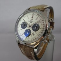 Breitling Transocean Chronograph 43mm - Full Set