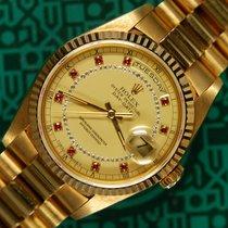 Rolex Day-Date 18238 string/myriad AS NEW 1991
