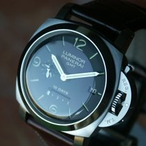 Panerai PAM 270 GMT 10 Day Movement w 1950 case: Retail