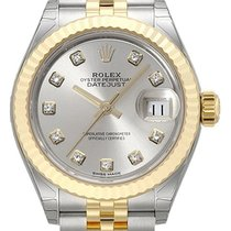ロレックス (Rolex) Lady-Datejust 28 279173 Silber Diamant Jubile-Band