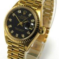 Rolex Lady Datejust President 18 Kt 750 Gold Ref 69178...