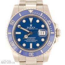 Rolex Submariner Date 116619LB Whitegold Blue Dial  B+P2009 ...