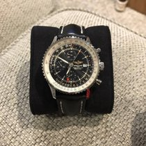 Breitling Navitimer World A2432212/B726 Steel 2016 Black Dial...