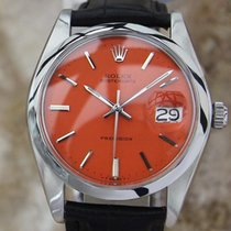 Rolex Oysterdate Precision 6694 Manual Stainless Mens 1979...