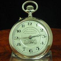Railway Timekeeper Messing Open Face Taschenuhr / Durchmesser...