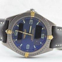 Breitling Aerospace Herren Uhr Titan/gold 42mm 80360 Vintage...