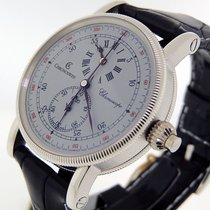 Chronoswiss Chronoscope CH1520 Platinum  Retail $39,500 New