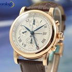 Montblanc Star Chronograph GMT Automatic 18k Solid Red Gold Watch