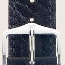 Hirsch Uhrenarmband Leder Highland schwarz M 04302050-2-14 14mm