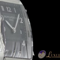 Baume & Mercier Hampton Rectangle Ladies Diamonds Diamantb...