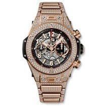 Hublot Big Bang Unico King Gold Pave Bracelet